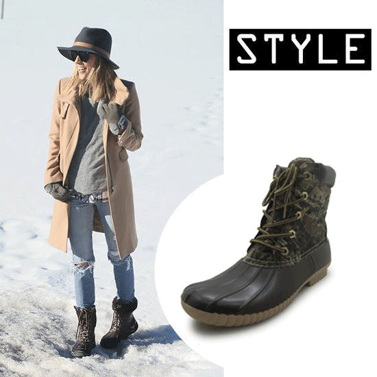 2016 fashion Snow boots